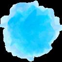 Watercolor Amazon Social Media Icon