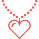 Outline Necklace Icon