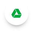 Simple Google Drive Social Media Icon