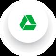 Simple Google Drive Social Media Icon