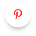 Simple Pinterest Social Media Icon