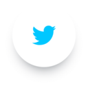 Simple Twitter Social Media Icon