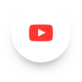 Simple YouTube Play Social Media Icon