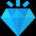 Outline Diamond Icon 9108 Dryicons
