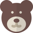 Glyph Teddy Bear Icon 9045 Dryicons