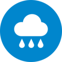 Colorful Rainy Weather Icon