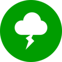 Colorful Stormy Weather Icon