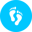 Teal Podiatry Icon