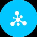 Teal Molecule Icon