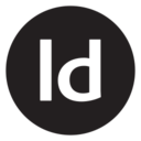 Digital Adobe InDesign Glyph Icon