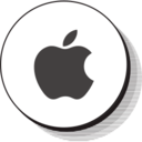 Retro Apple Icon