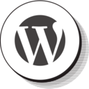 Retro Wordpress Icon