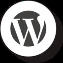Retro Wordpress Icon