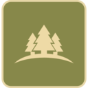 Flat Forest Icon