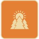 Flat Sunrise Icon