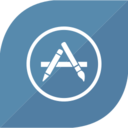 Flat Appstore Icon
