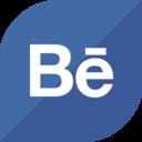 Flat Behance Icon