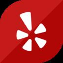 Flat Yelp Icon