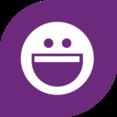 Smile Social Media Icon