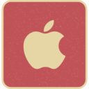 Vintage Retro Style Apple Icon