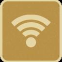 Vintage Retro Style Wifi Icon