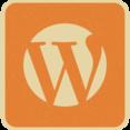 Vintage Retro Style Wordpress Icon
