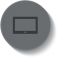 Button Style Screen Icon