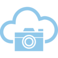 Camera Cloud Computing Vector Icon