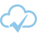 Checkmark Cloud Computing Vector Icon