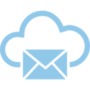 Mail Cloud Computing Vector Icon