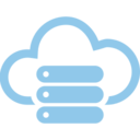 Server Cloud Computing Vector Icon