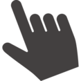 Hand Finger Pointer Icon