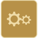 Flat Gears Icon