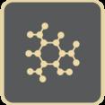 Flat Molecule Icon