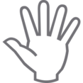 Outline High Five Icon