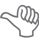 Outline Thumbs Up Icon