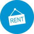 Flat For Rent Icon