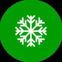 Flat Snowflake Icon