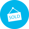 Flat Sold Icon