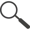 Magnifying Glass Multimedia Icon