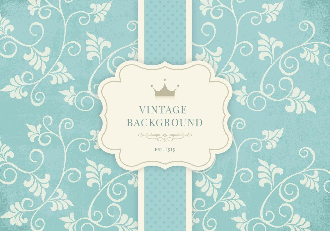 vintage floral background 10014 dryicons