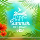 Tropical Summer Poster