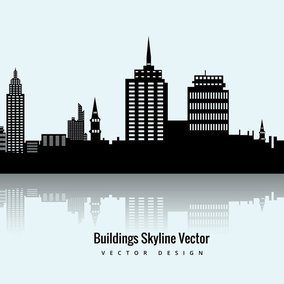 Buildings Skyline Vector
