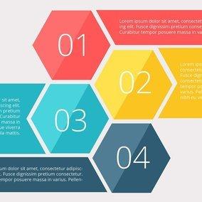 Infographics number diagram vector illustration