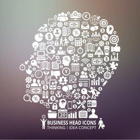 Business Human Head