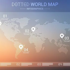 Dotted world map 10046 dryicons gumiabroncs Images