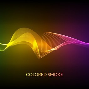 Colored Smoke Background