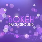 Small 1x purple bokeh background