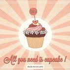 Small 1x all you need is cupcake