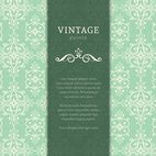Flourish Vintage Background